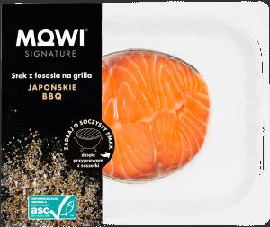 MOWI stek z łososia na grilla JAPOŃSKIE BBQ