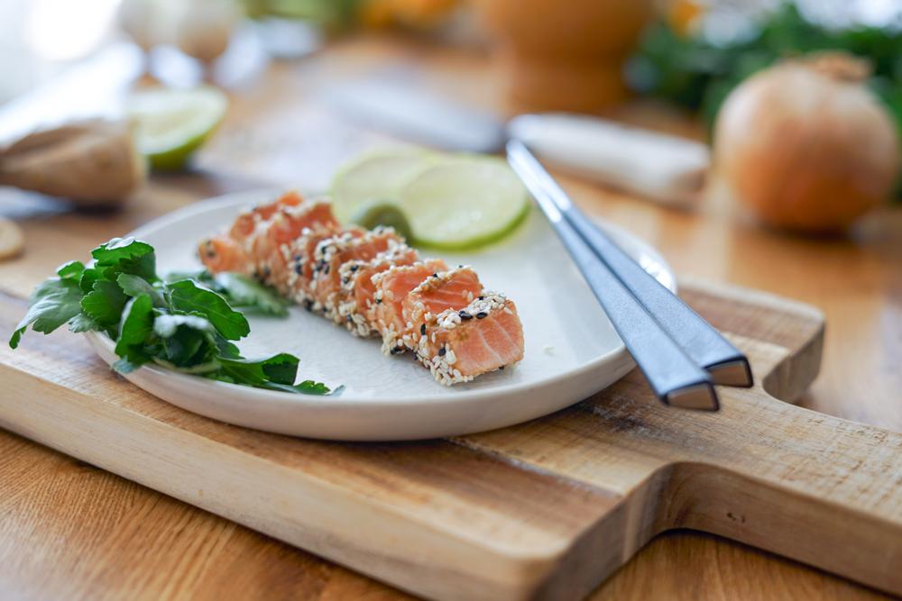 Tataki de saumon MOWI