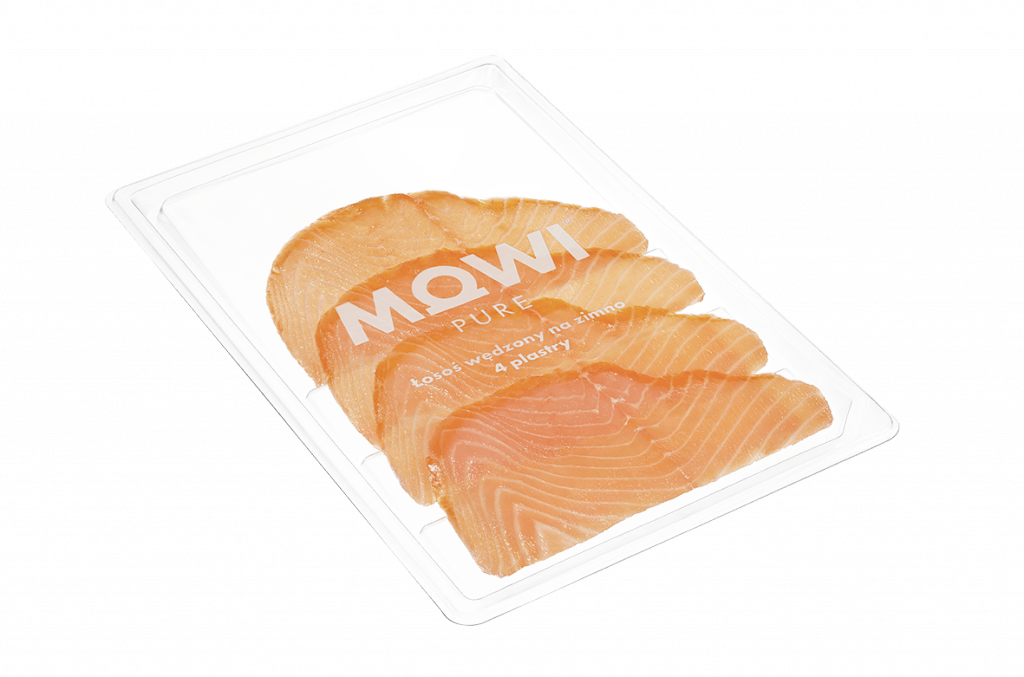 MOWI Pure cold-smoked 4 slices