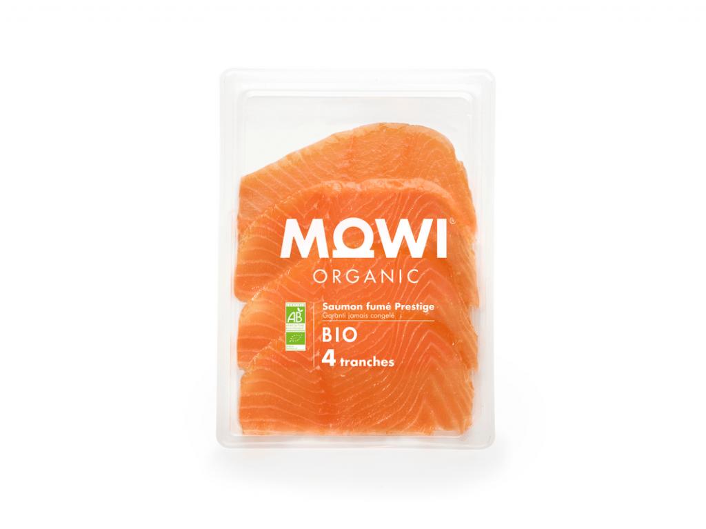 MOWI Pure BIO cold-smoked 4 slices