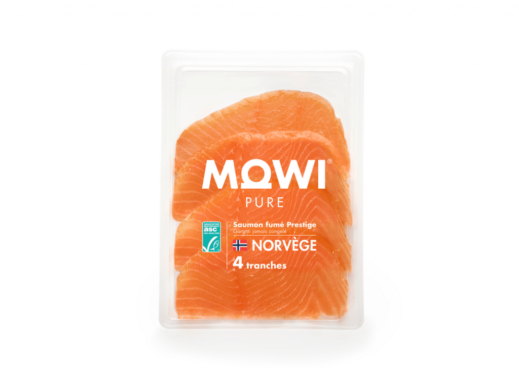 Smoked Salmon Norwegian Origin 4 slices