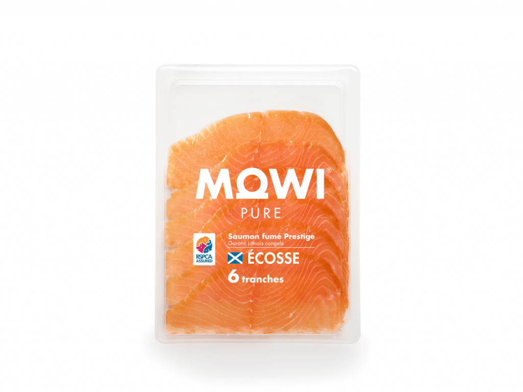 MOWI Pure cold-smoked 6 slices, Scottish